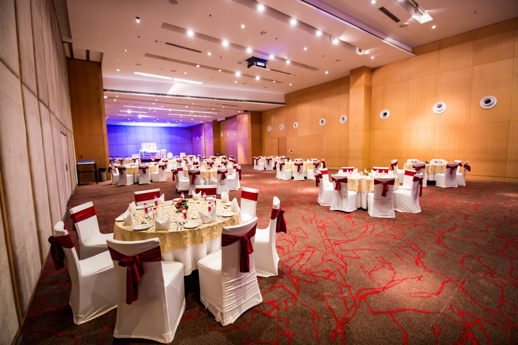 Grand Ballroom set up